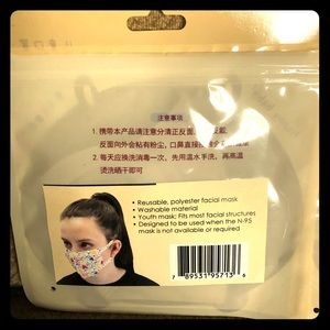 Youth size face masks